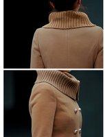 новый отличное качество, элегантный мода дамы синуса сомнения толщиной пальто