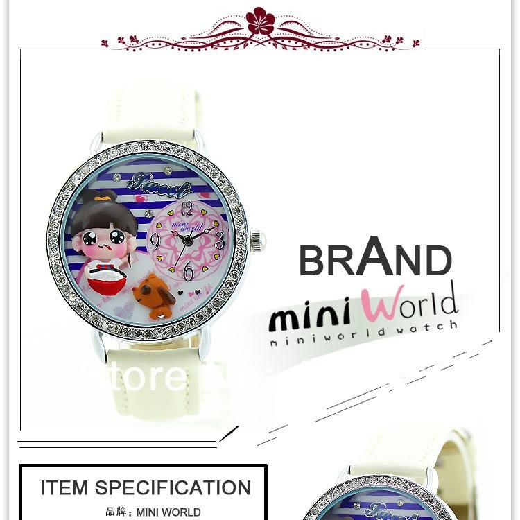 новый мини часы марки часов мультфильм общ высококачественные женские часы оптовая продажа детская модель