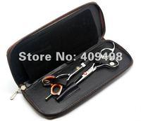 коричневый РПЦ-это собак ножницы чехол для 2 шт. основные инструменты 5 шт./лот