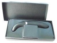 4 * 23 см водонепроницаемый черный цвет 10 скоростей вибрируя АВ массажер с зарядное устройство дилдо вибратор секс игрушка взрослые игрушка a143