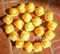 20 шт. / lot mini резина утка ванна утка пвх утка с звук плавающий утка