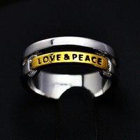 Высокое качество Салют ювелирные изделия 18 к белый позолоченный любовь желание палец кольцо подарок для девушки женщин никеля lr0874