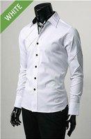доставка бесплатно 2011 машина машина людей специальная передняя вилла стиль рубашка белый цвета размер М / L / хl