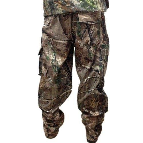 Jungle Camo Fleece Windproof Hunting Hunter Clothes Pants Camouflage3