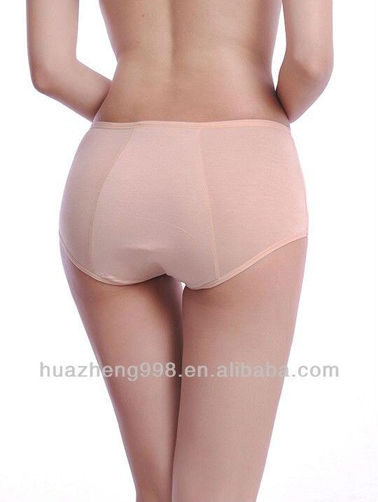 Wife interracial dirty panties menstrual butt