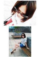 100% ультрафиолетовый материал кошачий глаз женщины солнечные очки ЗП-002