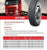 грузовик шины 295 / 80r22. 5 yb298