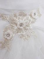 хороший кот sweethearted декольте кружево с бисером органза свадебное платье
