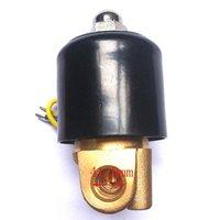 """высокое качество 24В 1-1/4 """"150 по цельсию электромагнитный клапан нормально закрытый 2w350-32"""