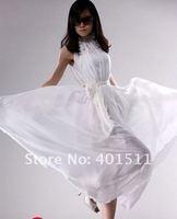 sd02-3 100% гарантия качества новинка красочные цветочные шелк макси длинное платье