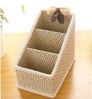 бесплатная доставка новый ящик для хранения романтично одетый ткань 3 nasal хранения диктант управления для хранения