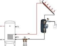 """бесплатная доставка DHL доставка, самостоятельно разработанный и клапан из латуни пополнения, пополнение клапан, три головы Г3 / 4 """" для солнечной системы"""