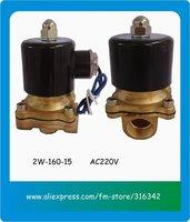 """2015 2вт-160-15 220 в переменного тока оптовая продажа электромагнитный клапан 1/2 """" порт размер"""