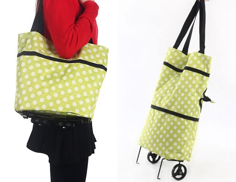 614803f22b Multi-Function Portable Folding Reusable Shopping Trolleys Shopping Carts  Carrier Grocery Bag Shopping Bags Free Shipping
