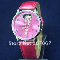 бесплатная доставка 10 шт./лот Seal Бетти буп кварцевые женские девушки наручные часы - абл