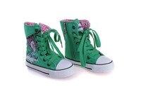 бесплатная доставка весна и осень девочка спортивная обувь ребенок холст холст