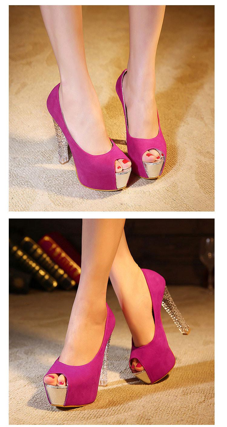 мода женские туфли на платформе с открытым носком насос кристалл туфли на каблуках, свадебные туфли ну вечеринку и свадебные туфли для женщин