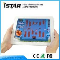 бесплатная shipping100pcs двойной пластиковые бросать миниджойстик игры джойстик для iPhone / для iPad сенсорный экран
