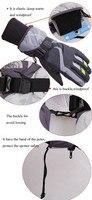 sg02 водонепроницаемый снег перчатки зима мотоцикл велоспорт лыжная спорт перчатки черный открытый бесплатная доставка