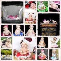 бесплатная доставка новорожденных девочки юбка пачка НБ-12м - розовый и коричневый