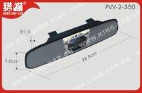 12 напряжение водонепроницаемый камера заднего вида зеркало заднего вида 3.5 дюймовый дисплей TFT с 4 ультразвуковой датчик парковки пвв-2-350