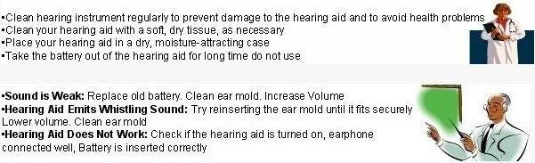 Unique Sound Enhancement Box Wired Hearing Aid