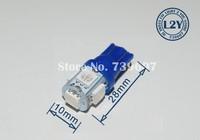 100 шт T10 водить W5W 5 СМД 5050 из светодиодов автомобиль парковка ширина номера знака ЛГ 12 В