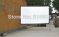 """180 """"-дюймовый мягкий коврик белый проекция экран 4:3 16:9 необязательно, может быть вода для мытья и соль бесплатная доставка"""