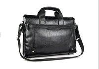 черный и коричневый ] + 100% гарантия из естественной кожи популярные мужская портфель для ноутбука сумки сумка