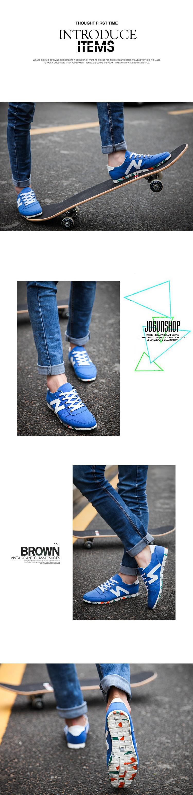 фирменное наименование весна осень мода причинно муёчины кроссовки холст для мужчины высокое качество гарантия бесплатная доставка
