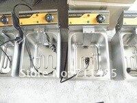 одноместный корзина кухня фритюрница 10 литров из нержавеющей стали 1500 вт 220 в