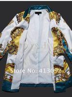 новинка красочные шелковое платье / женские платья /, небольшой куртка + брюки из двух костюм, № 413092 магазин