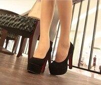 Sasha круг глава пр обувь женское высокая туфли на высоком bloke обувь черный / желтый / серый / красный размер : 35 - 39 код