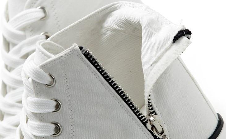 1158600243 811 - High Heeled Platform Canvas Shoes
