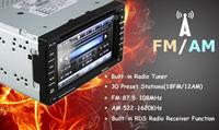 универсальный сенсорный экран радио телевизор для автомобиль с Bluetooth в формате mp4 вспомогательный DVD-видеодисков компакт-диск радио USB / памяти SD / телевизор