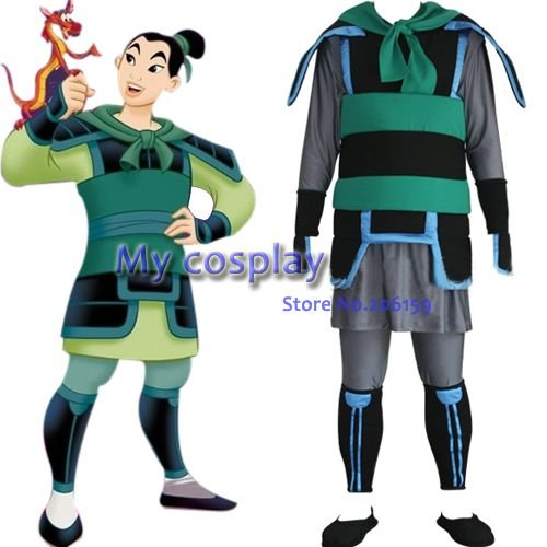 Anime Kingdom Hearts Mulan Menu0027s cosplay costumes for Halloween Cosplay parties Men Costume Dress-in Anime Costumes from Novelty u0026 Special Use on ...  sc 1 st  AliExpress.com & Anime Kingdom Hearts Mulan Menu0027s cosplay costumes for Halloween ...