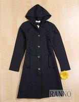 женская с капюшоном тонкий женская ветровка, пальто ветер