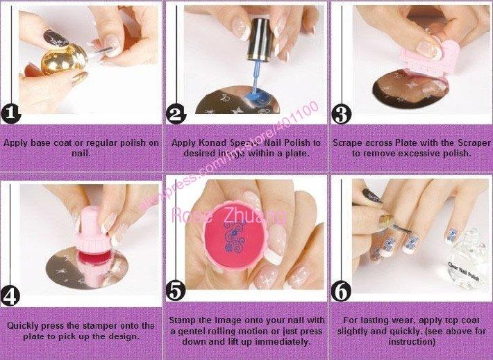 Makartt new diy nail art stamping set stamping nail art kit nail transaction history prinsesfo Image collections