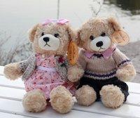 бесплатная доставка плюшевые игрушки бешеный подарок на день рождения кукла пара плюшевый мишка кукла пара из большой