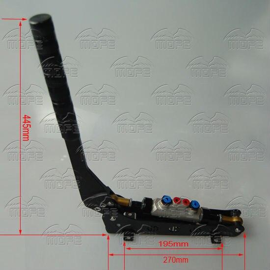 Dual Pump Adjustable Lever Length Drift Rally Hydraulic E-brake Handbrake Hand Brake 11