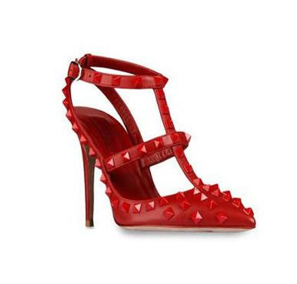 женщины туфли на высоком bloke размер 35 - 40 дамы СУ rosh Seal женщин свадьба ну поливать заклёпка обувь с острым носом обувь