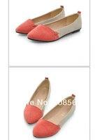 большие скидки! новый женский девушка свободного покроя комфорт балет потерял риск парень ССА мокасинах обувь 3 цветов 1620