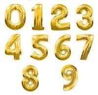 """2 шт. / комплект 30 """" большой размер золото серебро 0 - 9 цифровой рисунок количество Volga доли свадьба на день рождения ну полива декоративных аксессуаров ну поливать"""