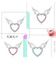 бесплатная доставка 527 женская мода горный хрусталь ожерелья, подарок для леди ювелирных изделий