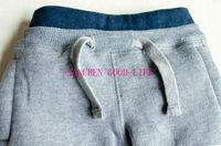 arrivral замша младенцы одежда 100% хлопка полипропилен брюки малыша милый медведь брюки