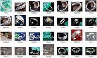 гарантия 100% новый 925 серебряные ювелирные изделия - позолоченные мода лягушка шарм хороший новый витая браслет / браслет + бесплатная доставка fd408