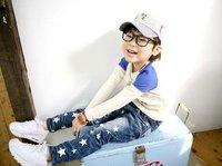 новый arriaval детская свободного покроя джинсы, бесплатная доставка