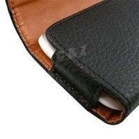 новый кожаный чехол ремень с клипсой + жк-фильм для сони Xperia Дж st26i st26a г