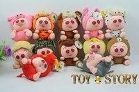 семья из маленький розовый свинья бесплатная доставка свинья