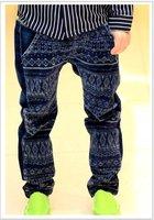 новый осень мальчиков ядер личности shit джинсы брюки